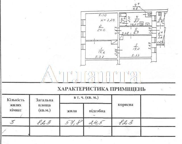 Продается 3-комнатная квартира на ул. Новосельского — 36 000 у.е.