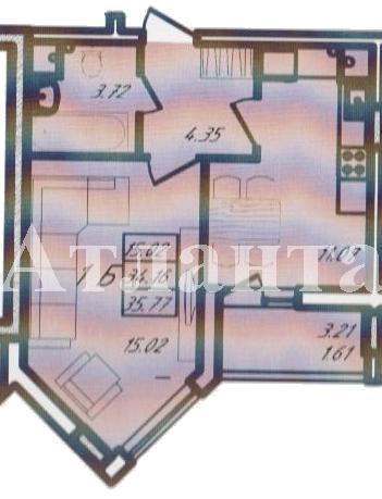 Продается 1-комнатная квартира в новострое на ул. Радужный 1 М-Н — 37 000 у.е.