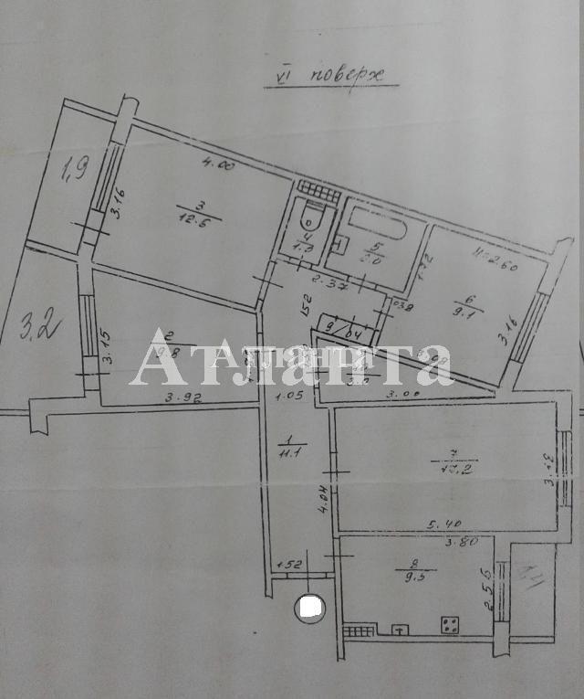Продается 4-комнатная квартира на ул. Академика Глушко — 58 000 у.е. (фото №8)