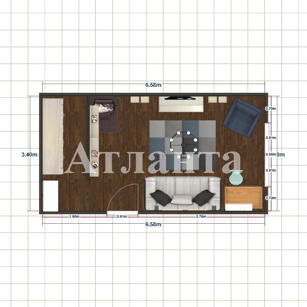 Продается 1-комнатная квартира на ул. Аркадиевский Пер. — 65 000 у.е. (фото №5)