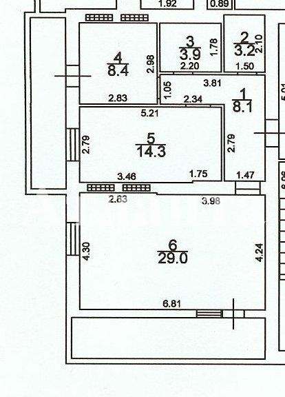 Продается 2-комнатная квартира на ул. Грушевского Михаила — 46 000 у.е.