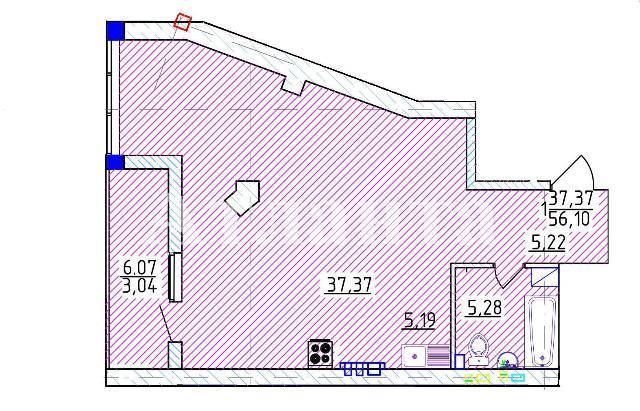 Продается 1-комнатная квартира на ул. Фонтанская Дор. — 112 200 у.е. (фото №3)
