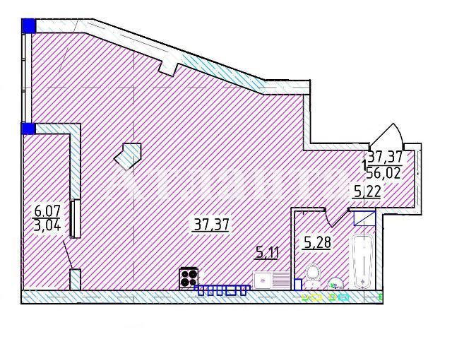 Продается 1-комнатная квартира на ул. Фонтанская Дор. — 96 760 у.е. (фото №4)