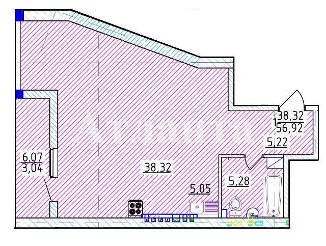 Продается 1-комнатная квартира на ул. Фонтанская Дор. — 98 350 у.е. (фото №4)