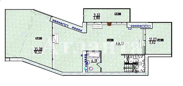 Продается Многоуровневая квартира на ул. Фонтанская Дор. — 144 070 у.е. (фото №3)
