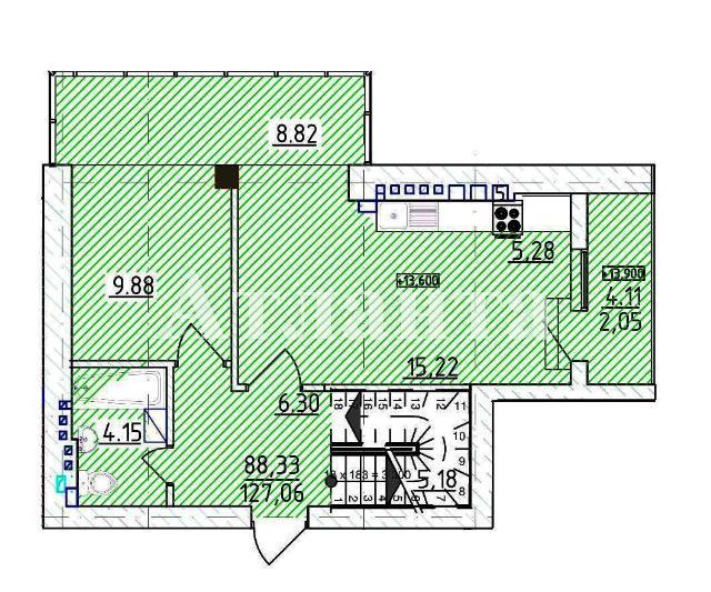 Продается Многоуровневая квартира на ул. Фонтанская Дор. — 144 070 у.е. (фото №6)