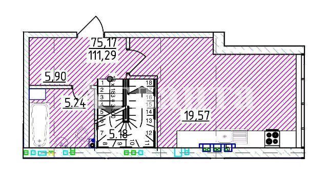 Продается Многоуровневая квартира на ул. Фонтанская Дор. — 112 590 у.е. (фото №3)