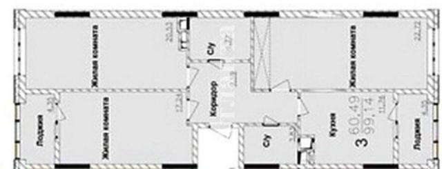 Продается 3-комнатная квартира в новострое на ул. Жемчужная — 72 000 у.е. (фото №4)