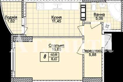 Продается 1-комнатная квартира в новострое на ул. Жаботинского — 28 000 у.е. (фото №3)