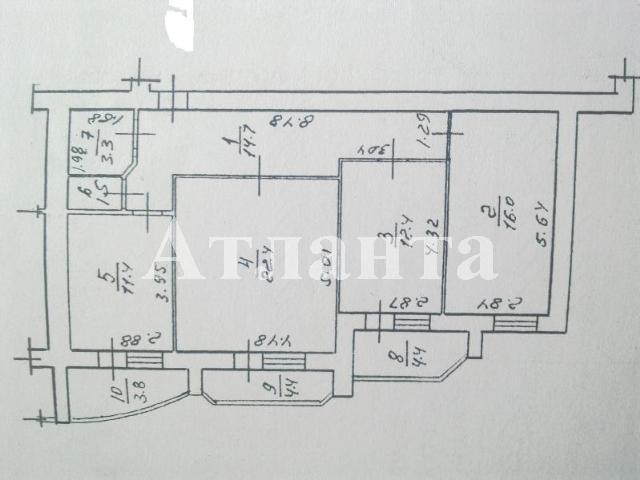 Продается 3-комнатная квартира на ул. Костанди — 105 000 у.е. (фото №12)