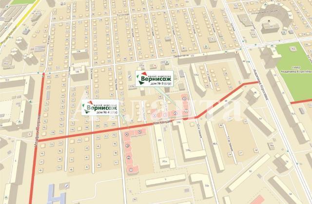 Продается 1-комнатная квартира в новострое на ул. Костанди — 44 000 у.е. (фото №3)