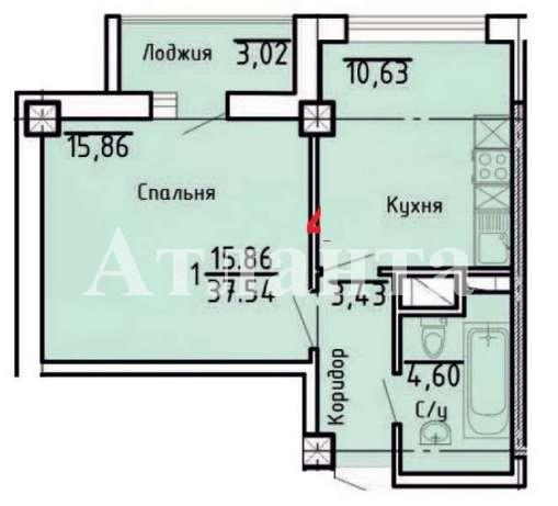 Продается 1-комнатная квартира на ул. Асташкина — 68 900 у.е. (фото №4)