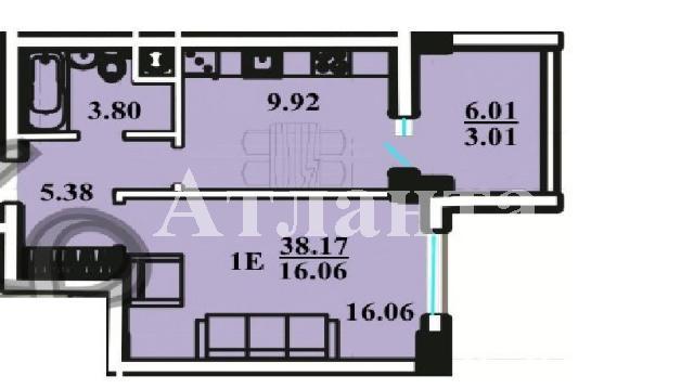 Продается 1-комнатная квартира на ул. Радужный М-Н — 29 000 у.е. (фото №4)
