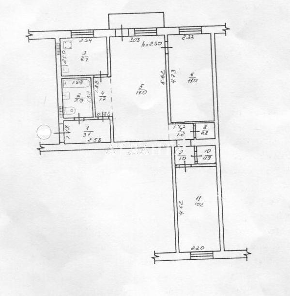 Продается 3-комнатная квартира на ул. Фонтанская Дор. — 36 000 у.е.