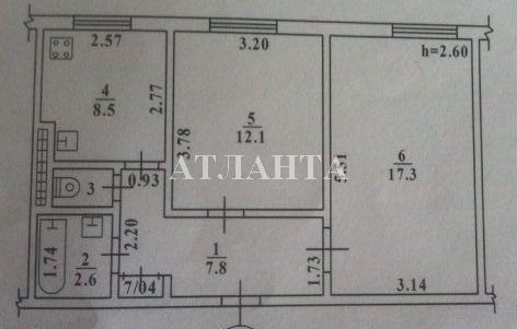 Продается 2-комнатная квартира на ул. Александра Невского — 36 000 у.е. (фото №4)