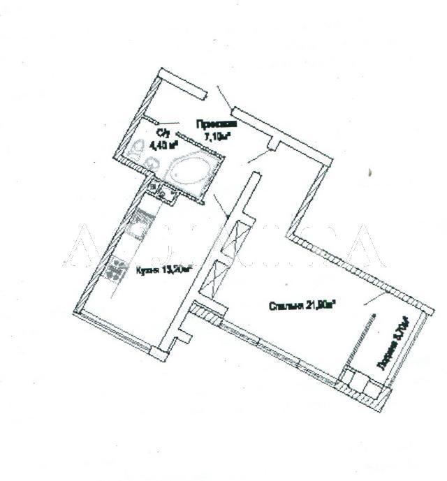 Продается 1-комнатная квартира в новострое на ул. Люстдорфская Дорога — 36 000 у.е. (фото №3)