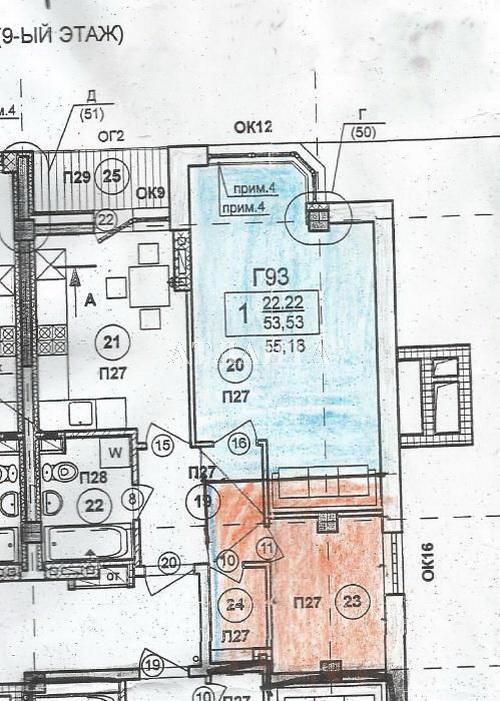 Продается 2-комнатная квартира в новострое на ул. Солнечная — 44 000 у.е.