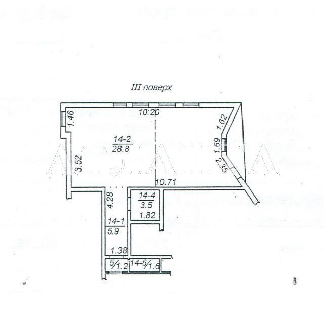 Продается 1-комнатная квартира на ул. Дача Ковалевского — 34 500 у.е.
