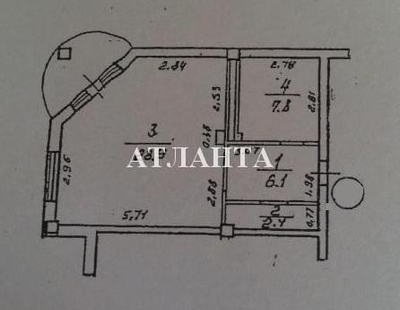 Продается 1-комнатная квартира на ул. Люстдорфская Дорога — 52 000 у.е. (фото №5)