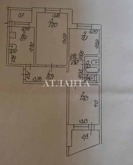 Продается 3-комнатная квартира на ул. Академика Королева — 55 000 у.е. (фото №8)