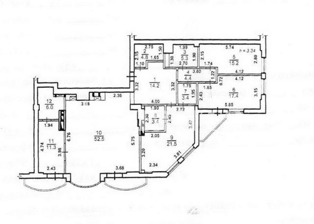 Продается 4-комнатная квартира в новострое на ул. Генуэзская — 1 300 000 у.е. (фото №16)