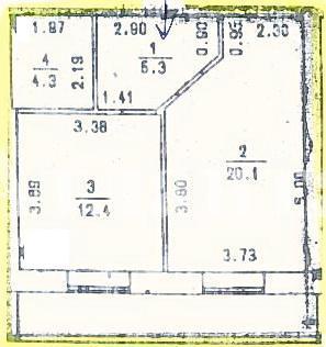 Продается 1-комнатная квартира в новострое на ул. Коралловая — 41 400 у.е. (фото №2)
