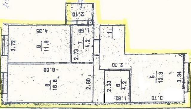 Продается 2-комнатная квартира в новострое на ул. Коралловая — 54 500 у.е. (фото №2)