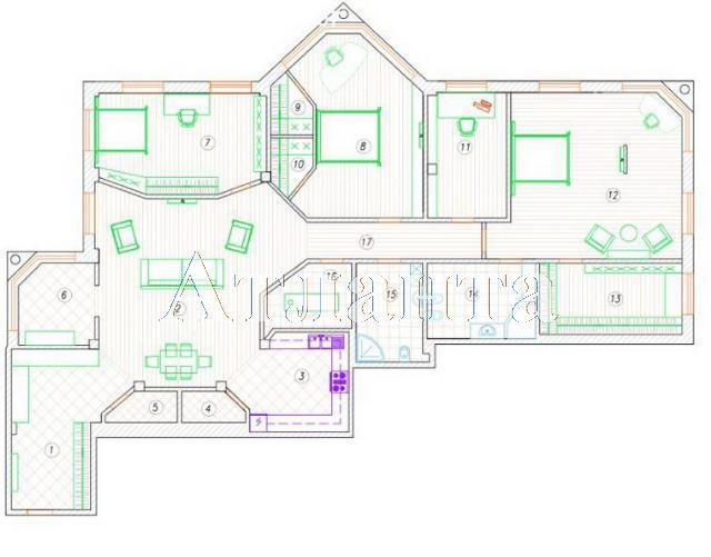 Продается 5-комнатная квартира на ул. Проспект Шевченко — 850 000 у.е. (фото №12)