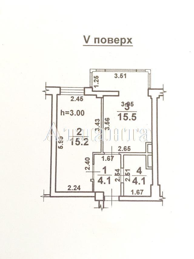 Продается 1-комнатная квартира в новострое на ул. Малиновского Марш. — 52 000 у.е. (фото №8)