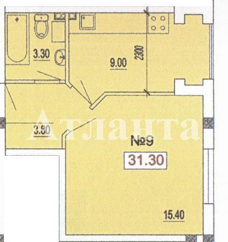 Продается 1-комнатная квартира в новострое на ул. Педагогическая — 21 910 у.е.