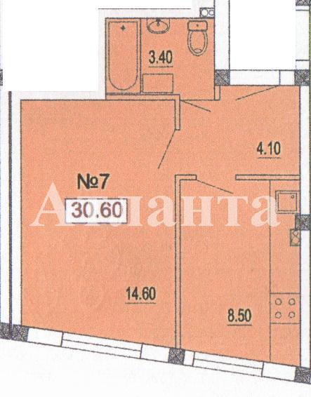 Продается 1-комнатная квартира в новострое на ул. Педагогическая — 21 420 у.е. (фото №2)