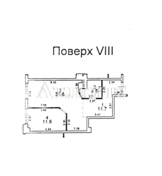 Продается 1-комнатная квартира на ул. Гагаринское Плато — 89 000 у.е. (фото №9)