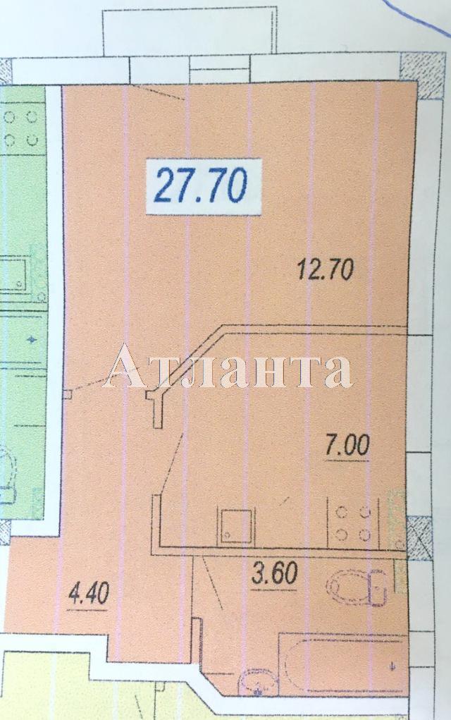 Продается 1-комнатная квартира в новострое на ул. Александра Невского — 19 500 у.е.
