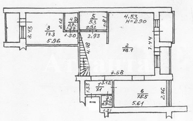 Продается Многоуровневая квартира на ул. Солнечная — 207 000 у.е. (фото №2)