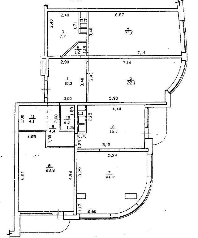 Продается 4-комнатная квартира в новострое на ул. Литературная — 385 000 у.е. (фото №11)