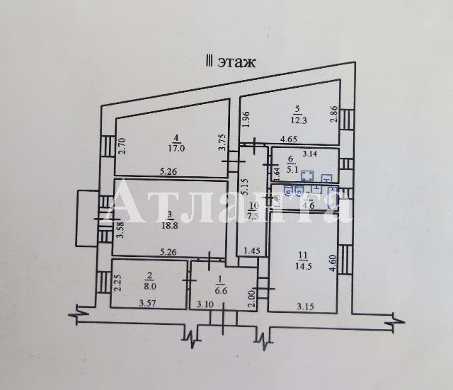Продается 4-комнатная квартира на ул. Банный Пер. — 100 000 у.е. (фото №8)