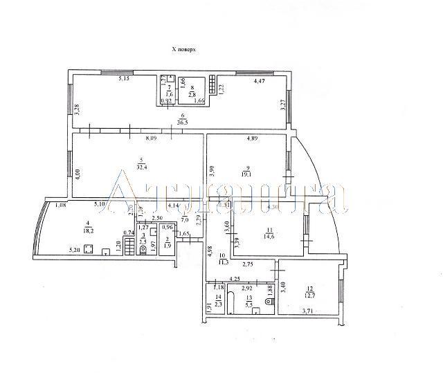 Продается 4-комнатная квартира на ул. Армейская — 210 000 у.е. (фото №21)