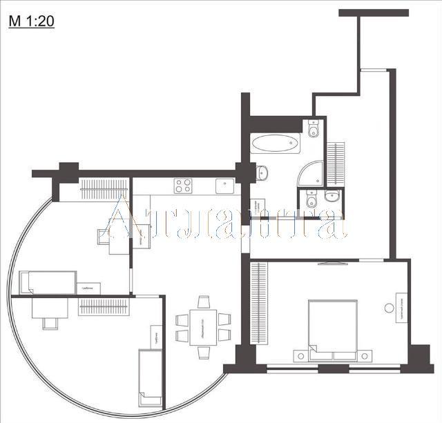 Продается 3-комнатная квартира в новострое на ул. Генуэзская — 105 000 у.е. (фото №2)
