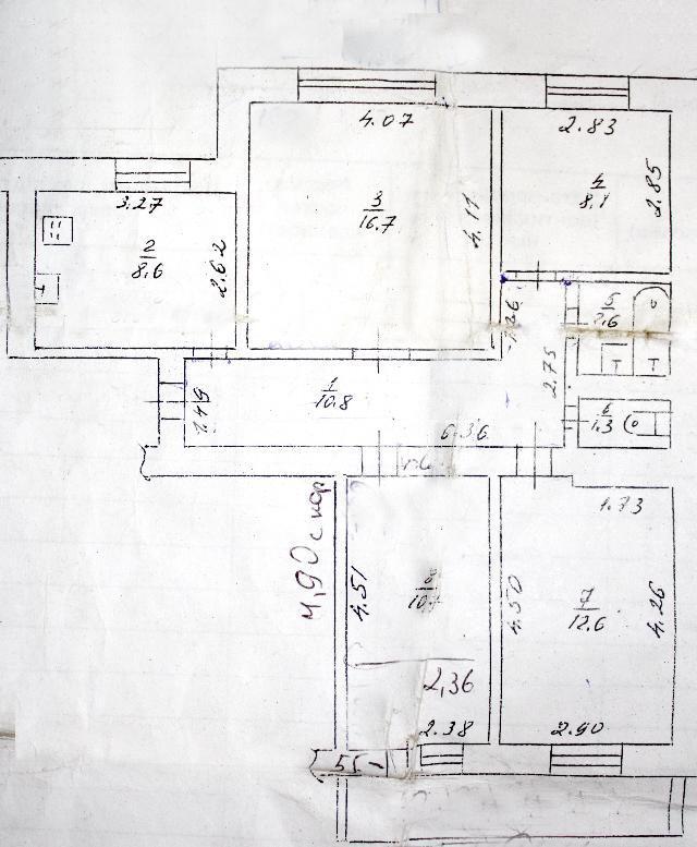 Продается 4-комнатная квартира на ул. Рихтера Святослава — 65 000 у.е. (фото №10)