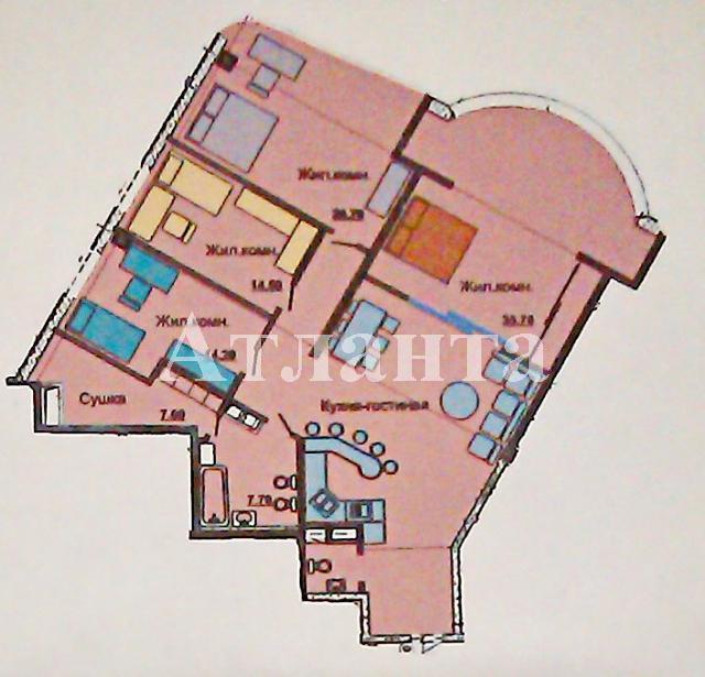 Продается 4-комнатная квартира в новострое на ул. Гагаринское Плато — 155 000 у.е.