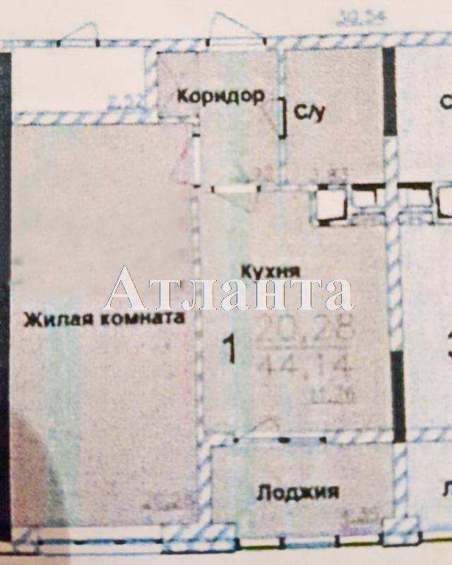 Продается 1-комнатная квартира в новострое на ул. Жм Дружный — 39 000 у.е. (фото №10)