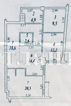 Продается 3-комнатная квартира в новострое на ул. Жемчужная — 98 000 у.е. (фото №10)