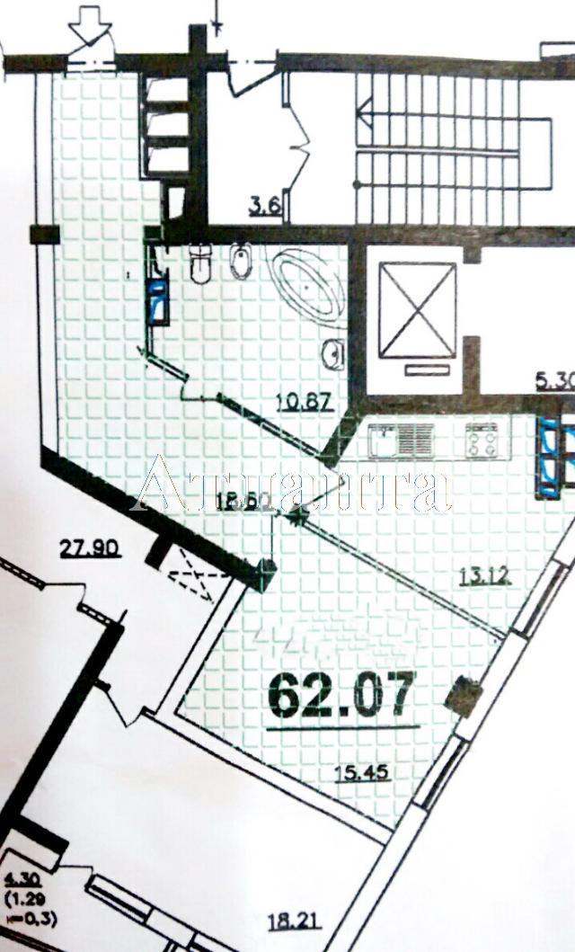 Продается 1-комнатная квартира в новострое на ул. Люстдорфская Дорога — 53 000 у.е.