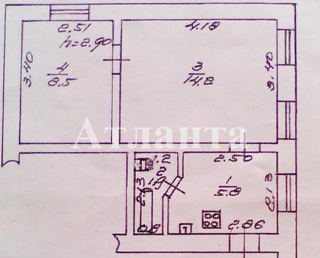 Продается 2-комнатная квартира на ул. Черноморского Казачества — 22 000 у.е.