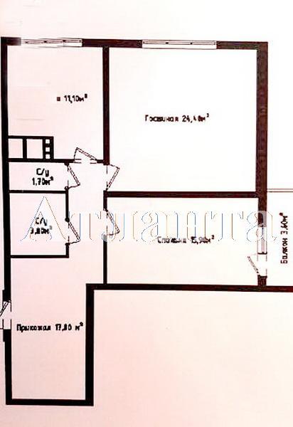 Продается 2-комнатная квартира в новострое на ул. Генуэзская — 91 000 у.е. (фото №2)