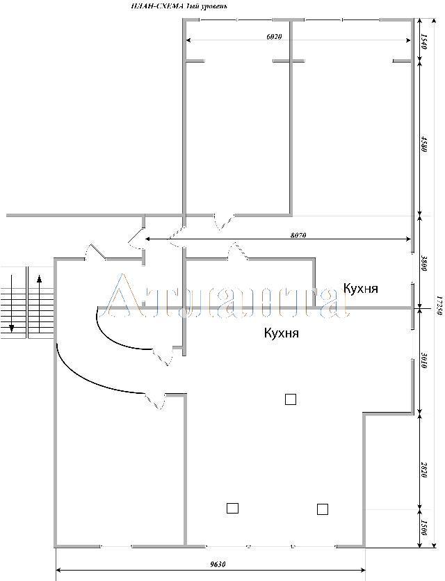 Продается Многоуровневая квартира на ул. Крупской Надежды — 56 000 у.е. (фото №9)