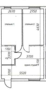 Продается 2-комнатная квартира на ул. Ватутина Спуск — 14 000 у.е. (фото №6)