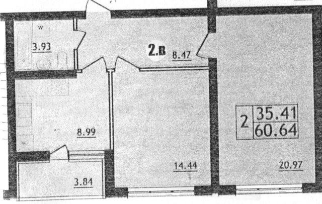 Продается 2-комнатная квартира в новострое на ул. Марсельская — 40 000 у.е. (фото №2)
