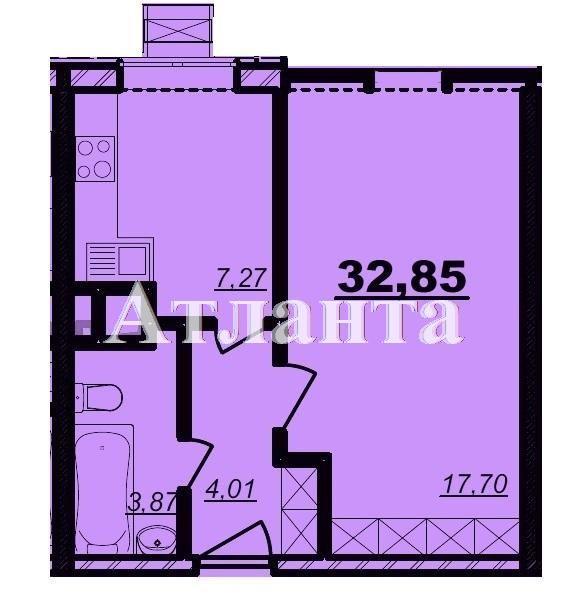 Продается 1-комнатная квартира в новострое на ул. Болгарская — 30 000 у.е. (фото №2)