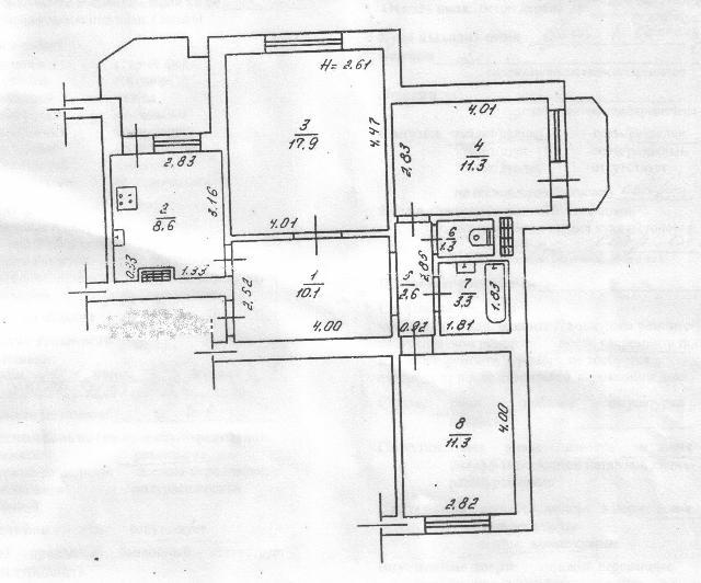 Продается 3-комнатная квартира на ул. Скворцова — 65 000 у.е. (фото №10)